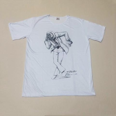 JA134 - Camiseta Branca (Zé Pilintra)