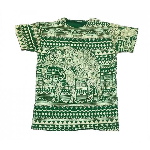 JA138 - Camiseta Verde (Elefante)
