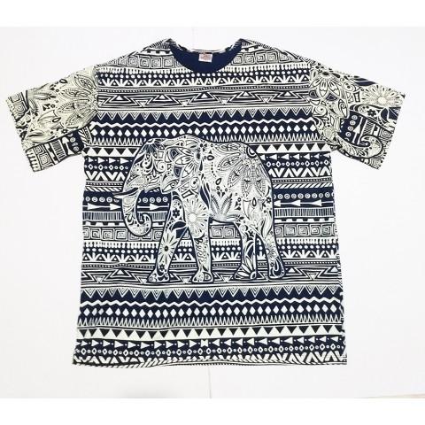 JA149 - Camiseta Azul (Elefante)