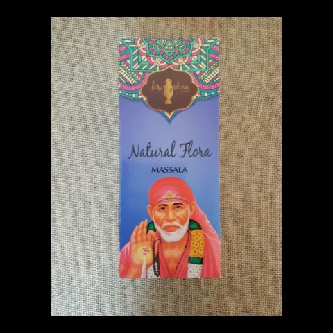 0461 - Incenso Massala Krishna Love Natural Flora