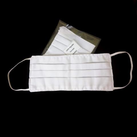 cov01-05 - Máscara Tecido Lavável (Branca)