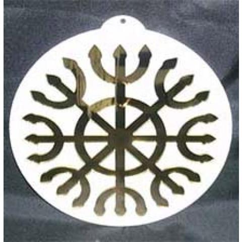 MA4102-18 - Mandala Devadatta Acrilico Dourado