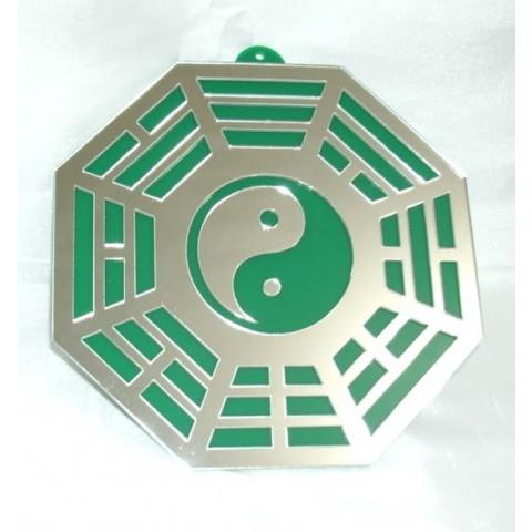MA4104-06 - Baguá Acrílico Espelhado Verde (9cm)