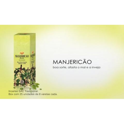 0288 - Incenso SAC Manjericão