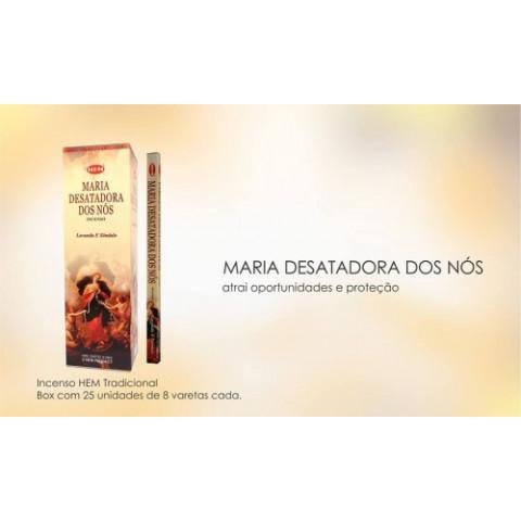 1338 - Incenso Hem Maria Desatadora de Nós