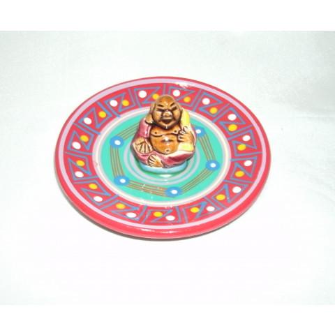 MC3028-02 - Incensario Ceramica Peruana c/ Budha