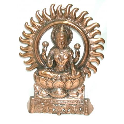 MH2073-12 - Escultura Lakshmi c/ Aro