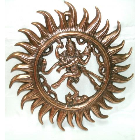 MH2073-17 - Escultura Shiva Natharaja c/ Aro (Parede)