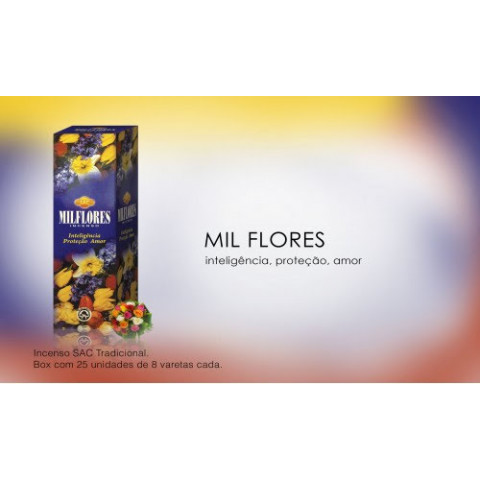 0273 - Incenso SAC Mil Flores