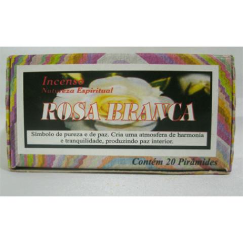 NE0400-35 - Defumador Natureza Espiritual (Rosa Branca)