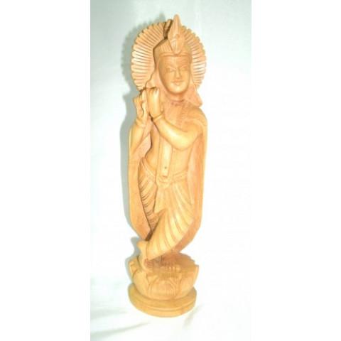 NH264-07 - Estatueta Deus Indiano c/ Flauta (P)