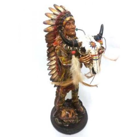CPA500369323 - Índio Em Pé YS12467