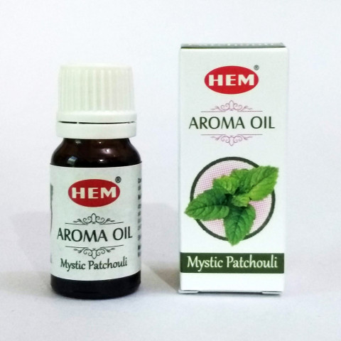1420-08 - Hem Aroma Oil - Mystic Patchouli 10ml