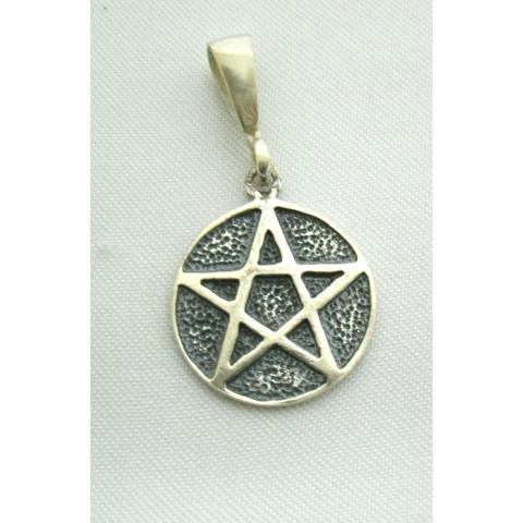 PI180 - Pingente Pentagrama Estrela Cinco Pontas
