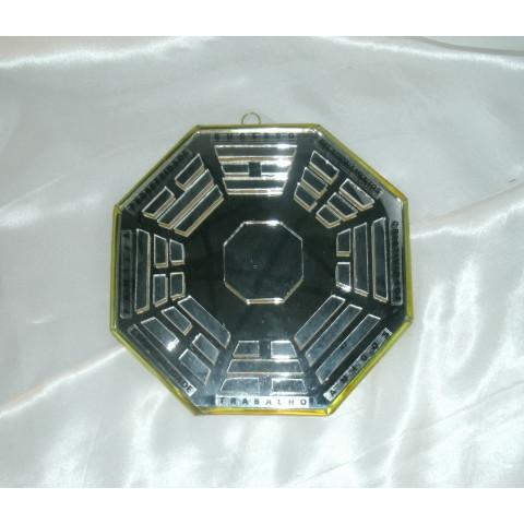 RO5507-1 - Ba-gua de Espelho C/ Escrita  (12cm)