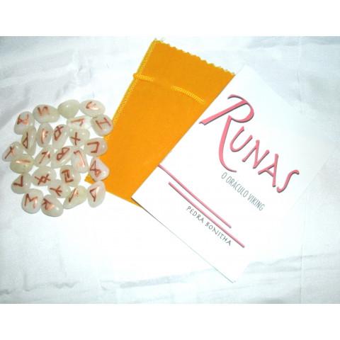 RU004-05 - Oraculo Runas (Agua Marinha)