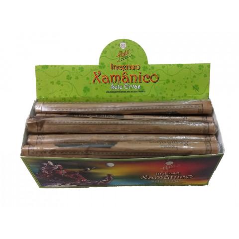 XA0106- Incenso Flute  Xamanico - Sete Ervas