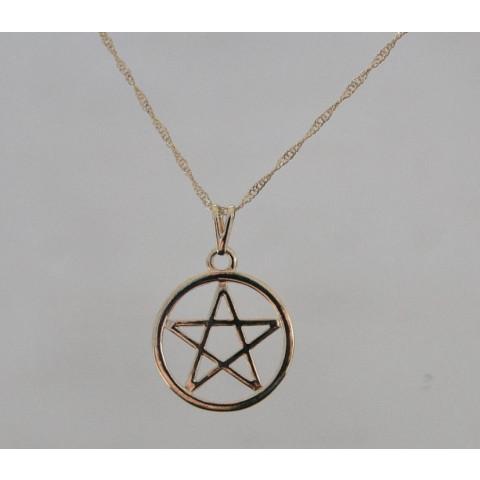 SH5626 - Gargantilha Pentagrama