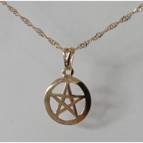 SH5639 - Gargantilha Pentagrama