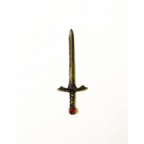 PU005-1 - Punhal p/ Ritual Envelhecido Vermelho