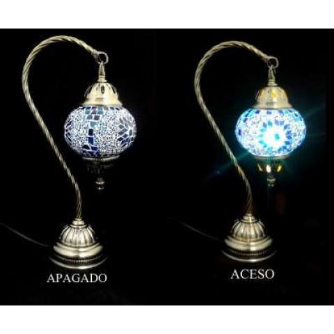 CPA300024603 - Abajur Turco YMA403 Azul