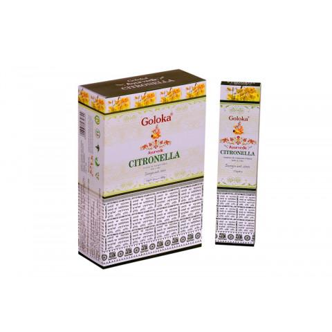 0515 - Incenso Massala Goloka Citronella