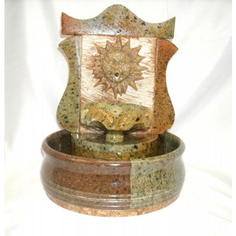 FA001-06 - Fonte de Pedra Sabão Colonial Sol