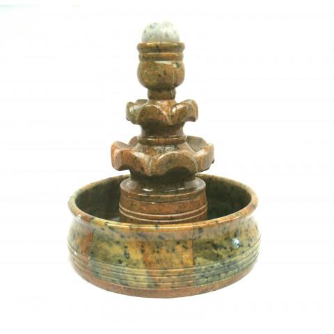 FA001-10 - Fonte de Pedra Sabão Chafariz c/ Bolinha