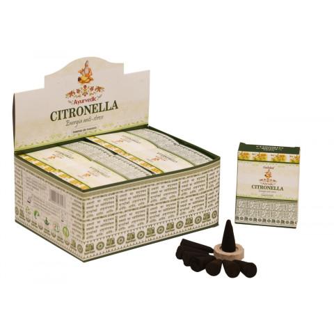 0368 - Incenso Goloka Cone Citronella