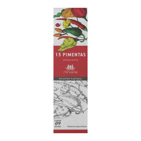 1383 - Incenso Nirvana 13 Pimentas