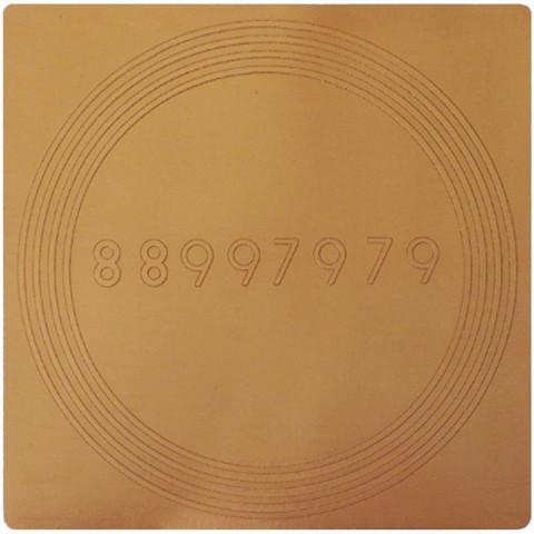 EG9912 - Gráfico Radiônico de Cobre (Anti Dor)
