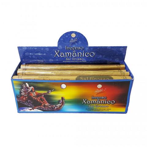 XA0111 - Incenso Flute Xamânico - Sal Grosso
