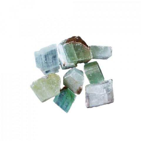0569 Cristal Bruto - Calcita Verde