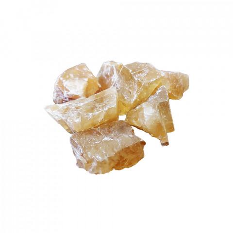 0567 Cristal Bruto - Calcita Dourada (Calcita Mel)