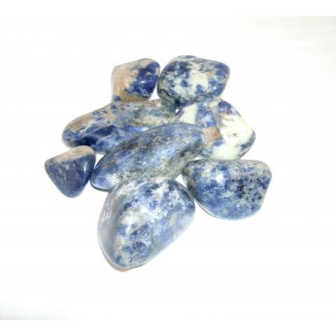 4014 - Pedra Rolada Sodalita - 100g.