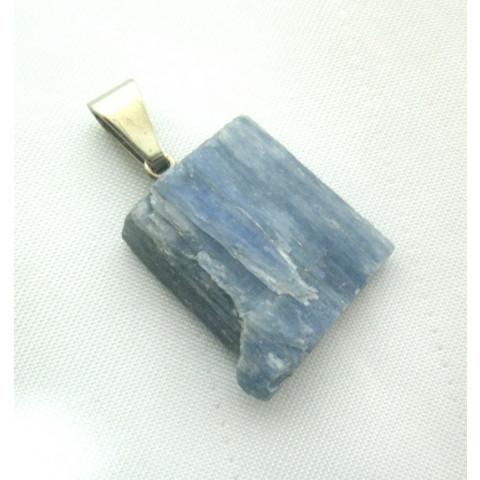 4402-24 - Pingente Pedra Rolada (Cianita Azul)