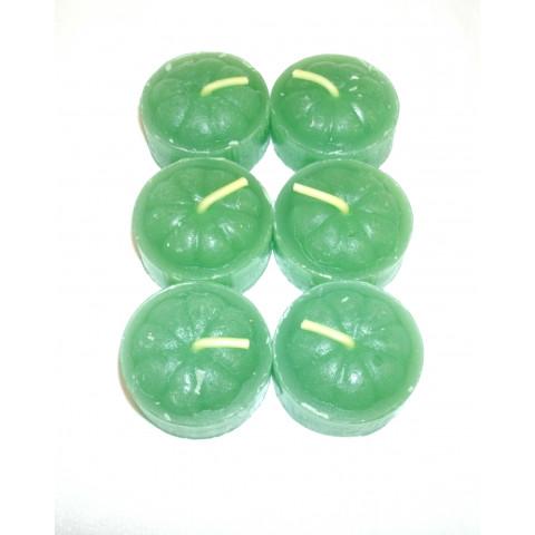 5001-6 - Vela Lamparina Verde