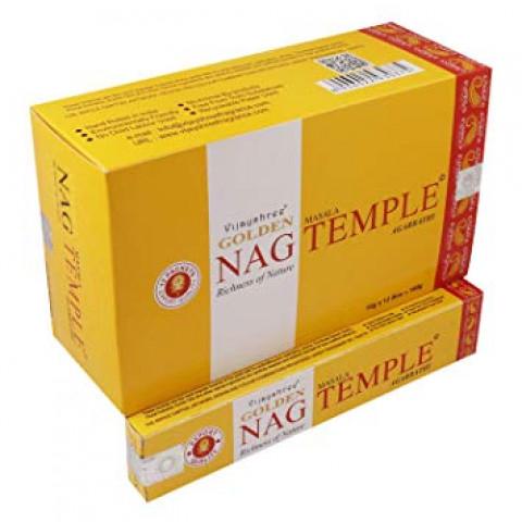 0787 - Incenso Massala Golden Nag Temple