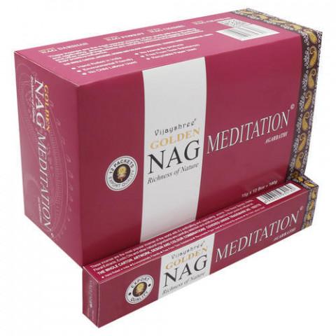 0781 - Incenso Massala Golden Nag Meditation