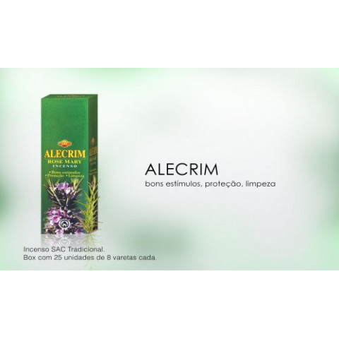 0269 - Incenso SAC Alecrim