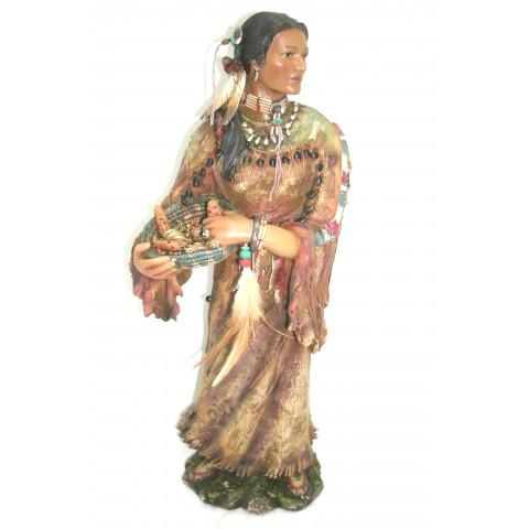 CPA500149323 - Estatueta Jovem India (YS19653)