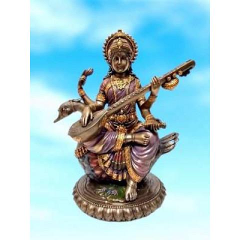 CPB040969234 - Saraswati C/ Cinse 20cm Bronzeado