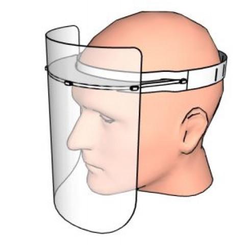 cov01-04 - Máscara Facial Protetora - Anti Respingos