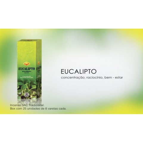 0284 - Incenso SAC Eucalipto