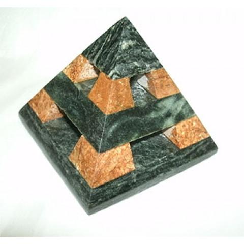 FA004-04 - Pirâmide Pedra Sabão Asteca (P)