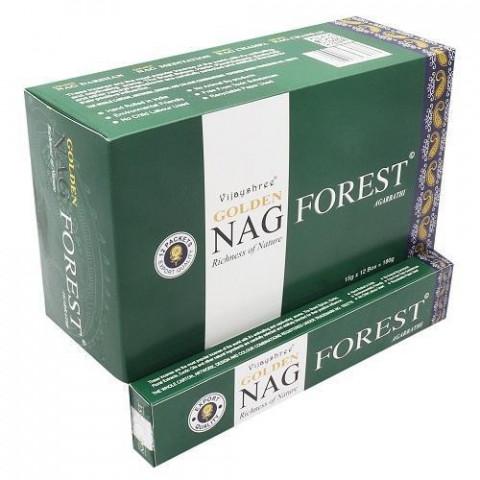 0782 - Incenso Massala Golden Nag Forest