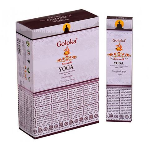 0157 - Incenso Massala Goloka Yoga