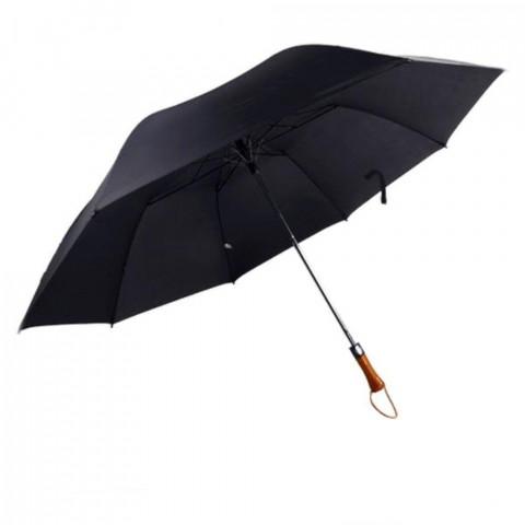 GCLQ22020 - Guarda Chuva Automático (Folha Simples) - Preto