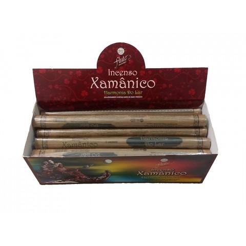 XA0103 - Incenso Flute Xamanico - Harmonia Do Lar