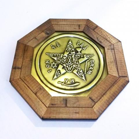 ME3032-16 - Quadro Octagonal Tetragrammaton (M)